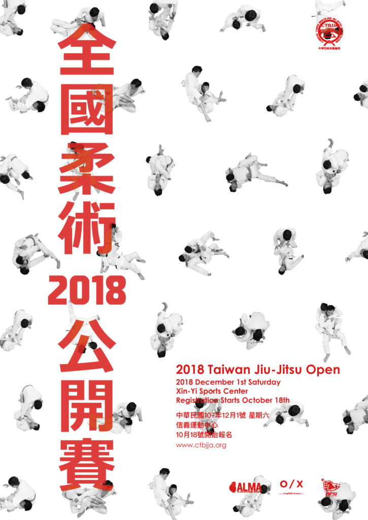 2018 Taiwan Open Poster